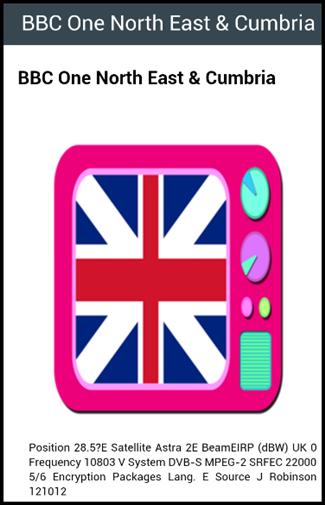 UK TV Channels 1.0 screenshots 2