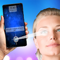 Unlock phone with eye retina (prank) icon