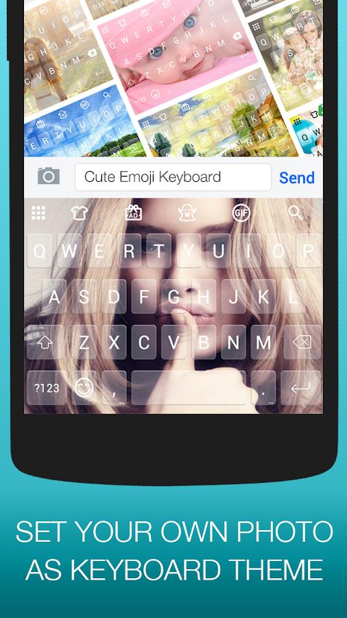 Screenshots of Emoji Keyboard Cute Emoticons for iPhone