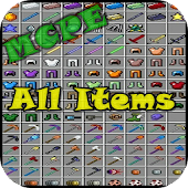 All Item Mod MCPE
