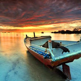 always boat by Rawi Wie - Transportation Boats