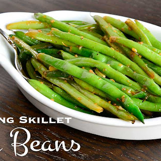 Screaming Skillet Green Beans