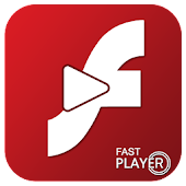 Flash Player For Android - Fast Player Swf & Flv icon