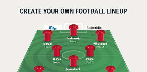 Lineup11 Football Line Up Apps On Google Play