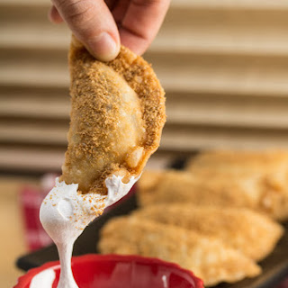 Deep Fried Nutella S'Mores Dumplings Recipe