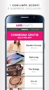 SaldiPrivati – Shopping online- screenshot thumbnail