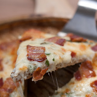 Amazing Carbless Pizza Crust.