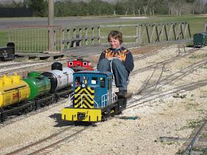Photo: The David James loco.   HALS 2009-0228