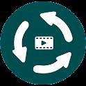 Flv To Mp4 Converter icon