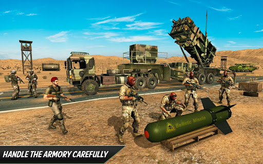 US Army Missile Attack : Army Truck Driving Games  screenshots 5