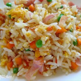 Ham & Egg Fried Rice.