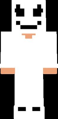 Marshmello Nova Skin - Skin para minecraft pe de marshmello