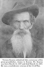 Photo: James A Kearns, B: 1837 D: 1937 - Confederate Veteran of Civil War