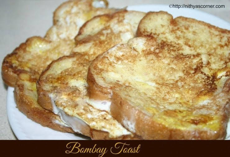 how to make bombay toast