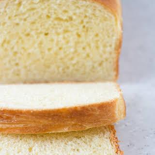Homemade Brioche Loaf Bread.