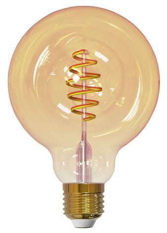 Airam Smarta Hem Filament LED Glob125 TW 5,5W E27