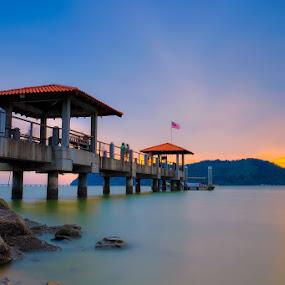 Jetty at Batu Kawan, Penang Malaysia by Adi Affendi - Buildings & Architecture Bridges & Suspended Structures