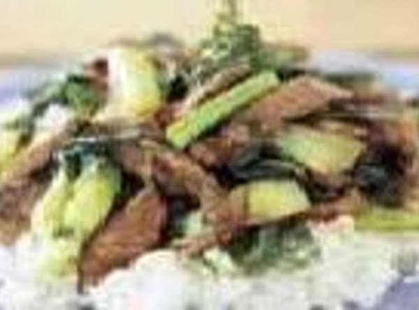 Korean Beef Bok Choy, Fast And Easy Recipe
