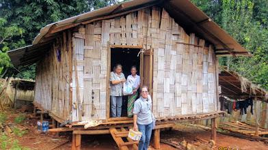 Photo: Kae Noi lahu house