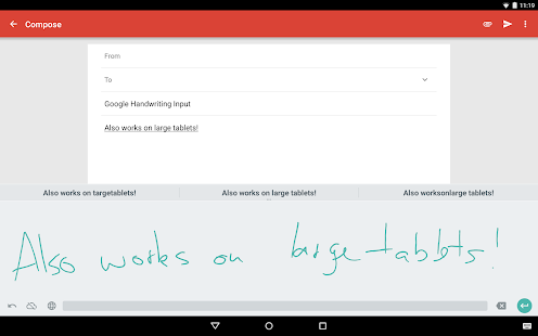 Google Handwriting Input Screenshot 7