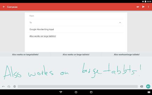 Google Handwriting Input 7