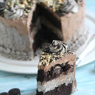 Oreo Nutella Cake - Eggless