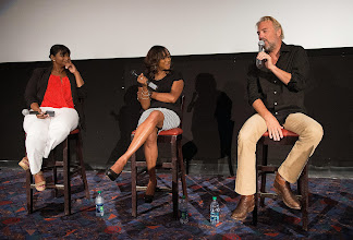 """Photo: NABJ Film Festival  screening of """"Black and White"""" during the 2014 National Association of Black Journalist (NABJ) convention in Boston, Mass. July 30-Aug 3.  (Photo by Harry E. Walker)"""