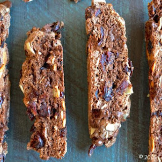 Dark Chocolate & Dried Cherry Biscotti