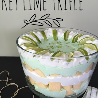 15 Minute Key Lime Trifle