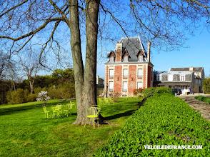 Photo: La villa des Brillants, maison de Rodin à Meudon - e-guide balade à vélo de Versailles à Meudon par veloiledefrance.com