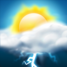 Weather HD APK poster