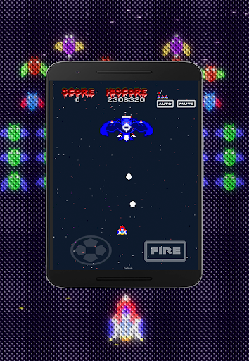 Galaxiga Retro:  Space Shooter screenshots 4