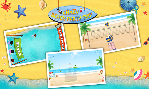 Family beach Trip Kids Game