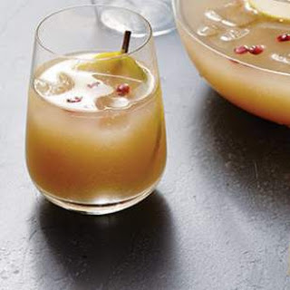Pear-Rum Punch