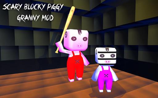 Scary Blocky Piggy Escape Mod 1.7 screenshots 1