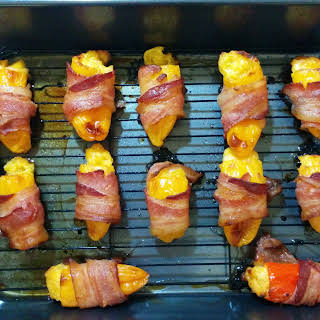 Bacon Wrapped Stuffed Bell Peppers Recipes.