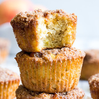 Paleo Peach Muffins with Crumb Top {Gluten-Free, Dairy-Free} Recipe
