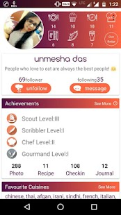 Eatable - The Foodie Social Network - náhled