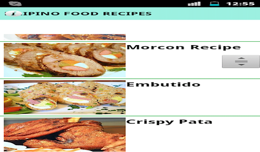 Filipino food recipes apps on google play screenshot image forumfinder Images