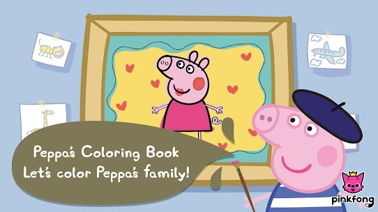 Peppa Pig 1~3 : Videos for kids & Coloring 3