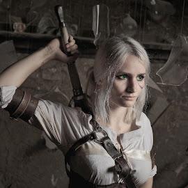 Ciri, The Witcher by Michaela Firešová - People Portraits of Women ( witcher, female, portrait,  )