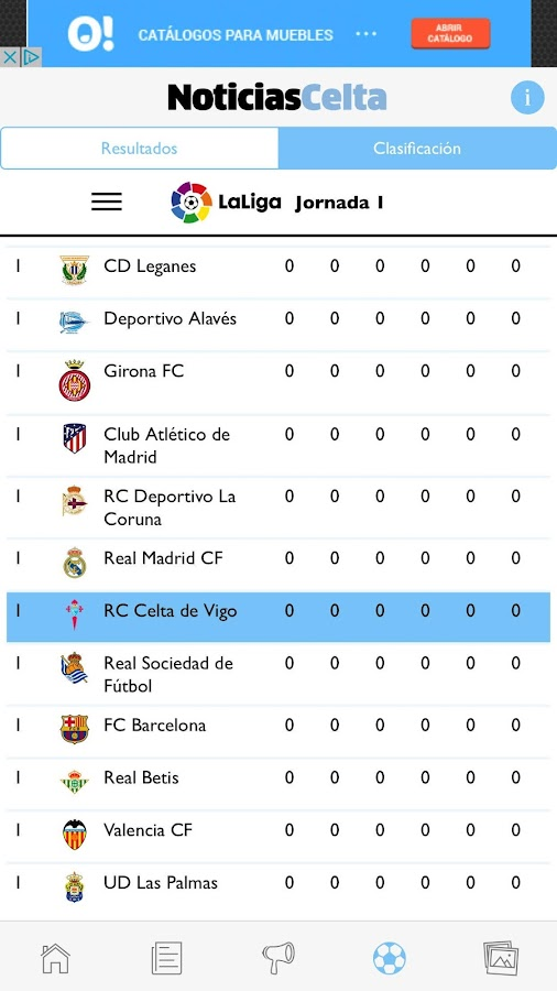 NoticiasCelta- screenshot