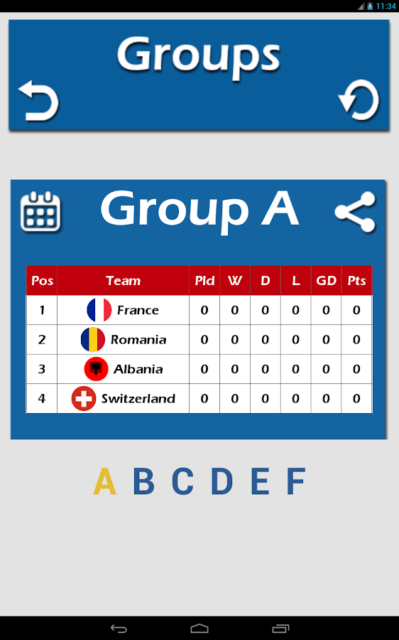 football euro 2016 france live android apps on google play
