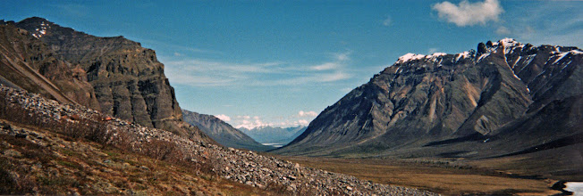 Photo: Wrangell-St. Elias (Nabesna/Tanada Lake)