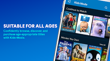 screenshot of Vudu - Rent, Buy or Watch Movies with No Fee!