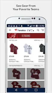 Fanatics: Team Gear, Fan Merch & Sports Jerseys- screenshot thumbnail