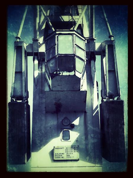 Photo: Crane atHafen Museum Hamburg