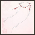 白絹糸の綾