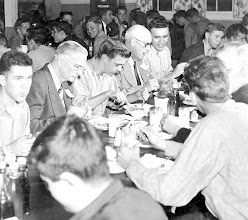 Photo: Beeville Navy League has lunch at the enlisted galley on Thursday, Dec. 11, 1958
