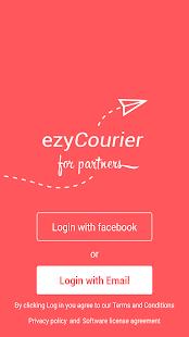 ezyCourier Partner - náhled
